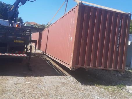 Containers 40'St p/ São Bernardo do Campo-SP
