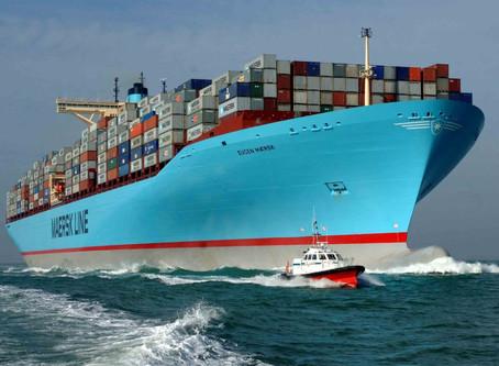 Maersk prevê crescimento de 3,8% no mercado de contêineres no Brasil em 2020