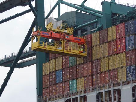 Crise de contêineres afeta comércio global de alimentos