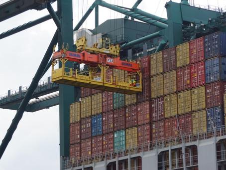 Movimentação de containers cresce no país, mesmo com frete alto e falta de equipamentos