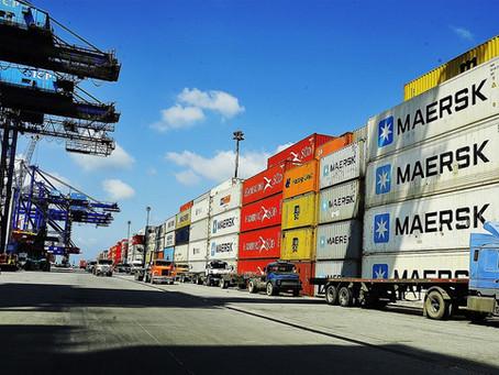 Maersk prevê queda de 25% nas importações brasileiras no 2º trimestre