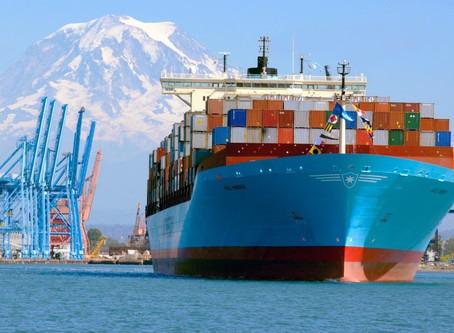 Comércio global de contêineres cresceu 2% no segundo trimestre