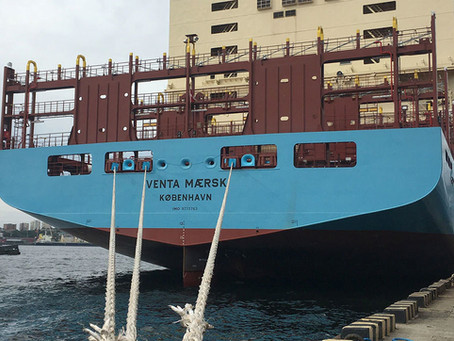 Maersk prevê queda na importação de 25%