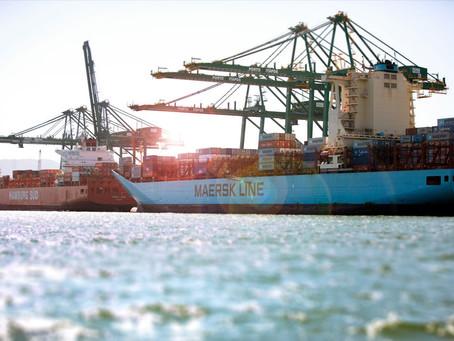 Maersk prevê crescimento de 3,5% nas exportações em 2021