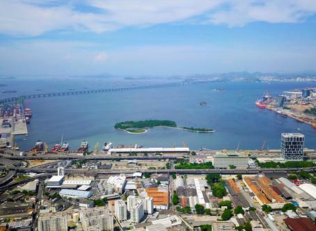 Porto do Rio de Janeiro cresce 14,7% na movimentação de contêineres e granéis sólidos