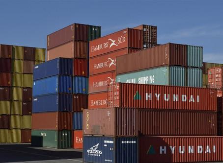 Número de contêineres parados pode atingir 12,6% da frota total
