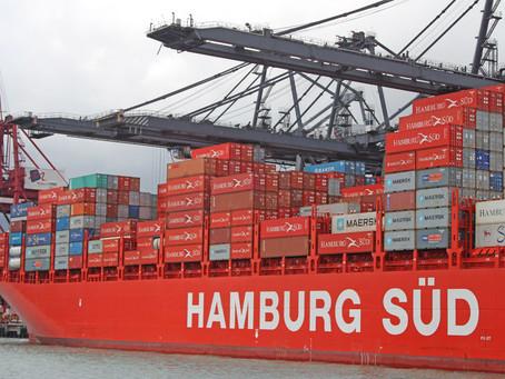 Hamburg Süd espera que os volumes na importação e exportação cresçam cerca de 5% em 2020