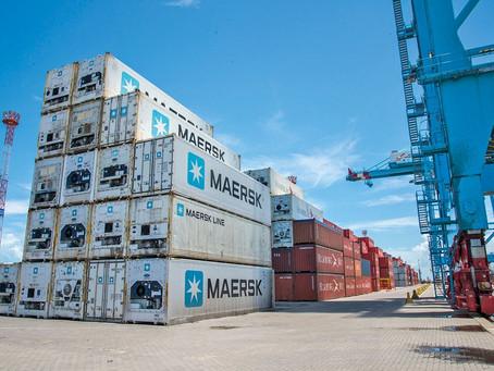Maersk espera melhor oferta de contêineres até final do ano
