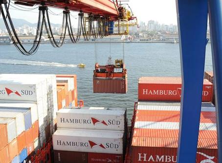 Operações do Porto de Santos vão crescer 4,5% neste ano, prevê diretor da Maersk