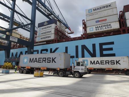 Oferta de contêineres tornou-se fator crítico, aponta Maersk