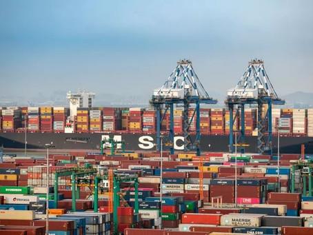 Congestionamento nos portos da China pode prejudicar compras de Natal deste ano