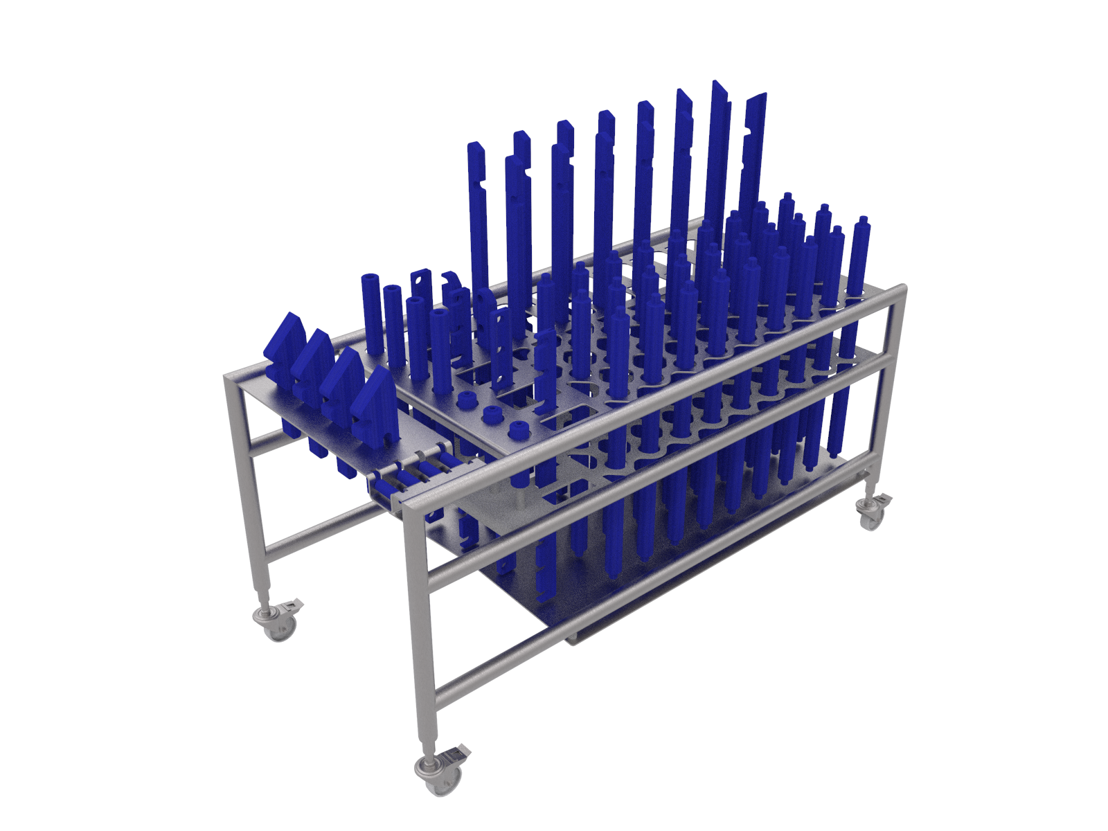 EC14 PARTS CLEANING TROLLEY