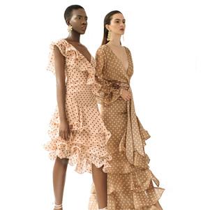Carissa mini dress & Cora bodysuit and skirt