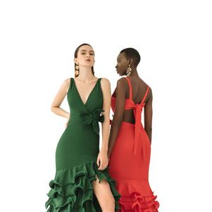 Laurel dress & Carmen dress