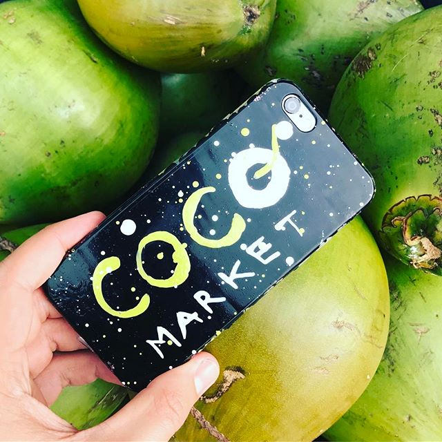 Our Coco Market case by _brushcases 😍💚
