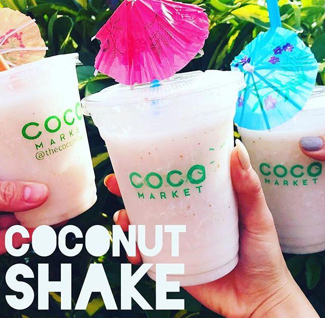 🥥 Coconut Shake - natural, refreshing and healthy