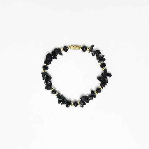 Bracelet - Amazonian Stone - Black