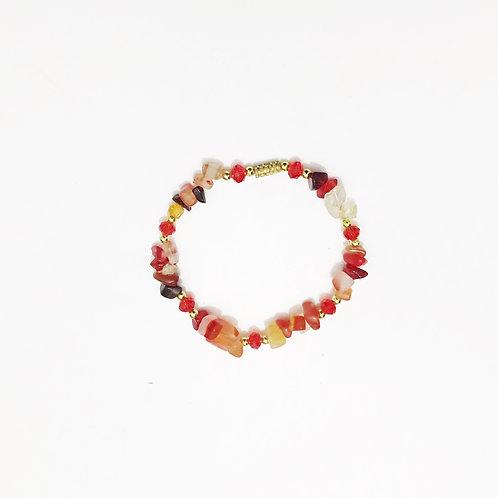 Bracelet - Amazonian Stone - Red