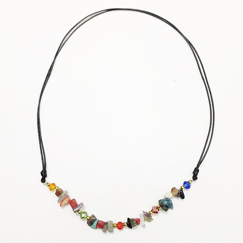 Necklace - Amazonian Stone - Colors