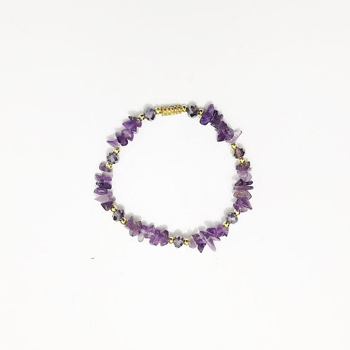 Bracelet - Amazonian Stone - Violet