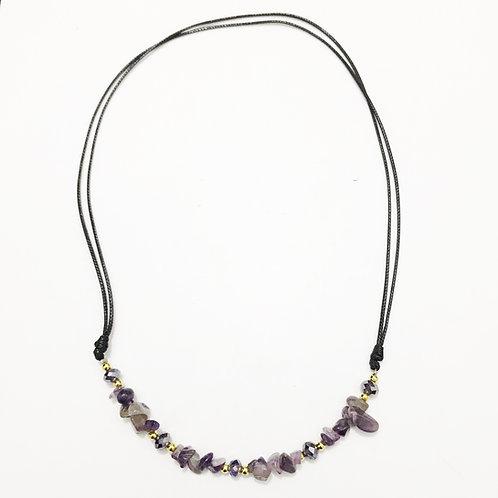 Necklace - Amazonian Stone - Violet