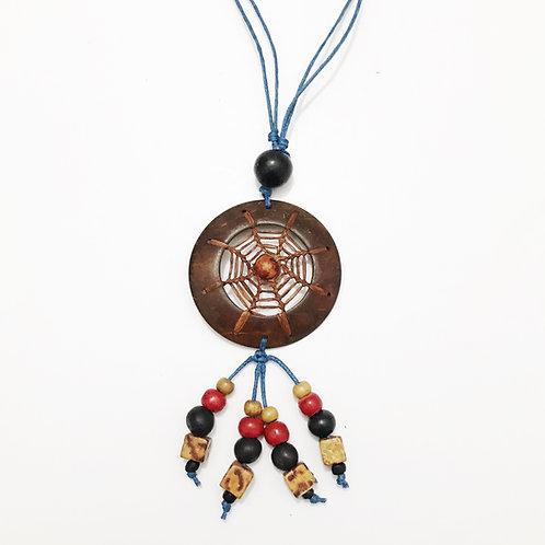 Necklace - Coconut & Seeds - Dreamcatcher 1