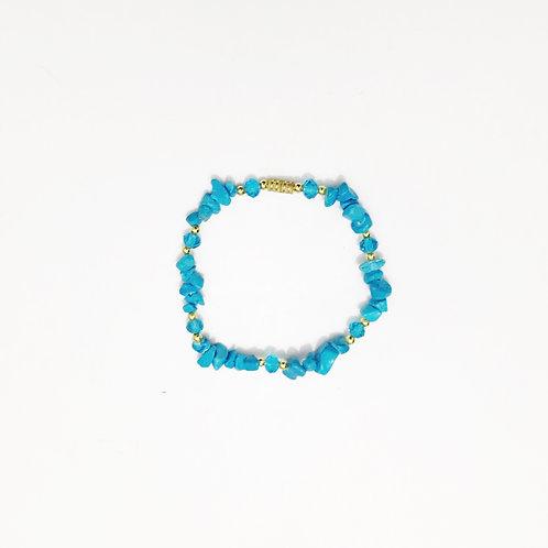 Bracelet - Amazonian Stone - Turquoise