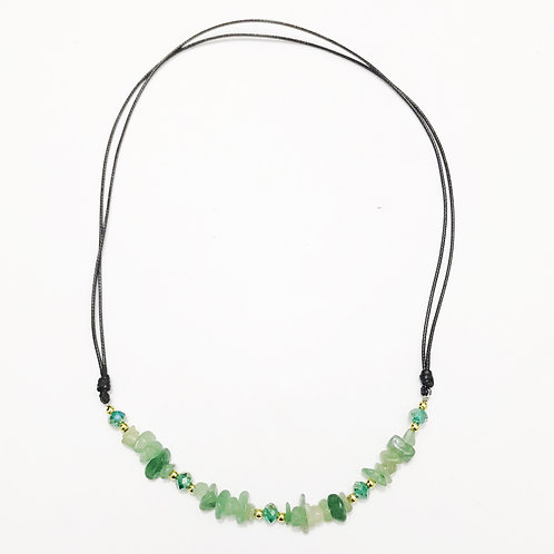 Necklace - Amazonian Stone - Green