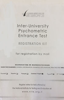 Psychometry Registration Kit