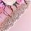 Thumbnail: Ceinture de mariage en perles et strass