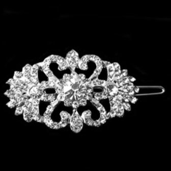 Clip de cheveux pour mariage en cristaux