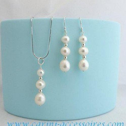 """Parure en perles """"Bubbles"""""""