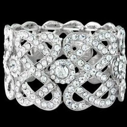 """Bracelet avec cristaux """"Sioban"""""""