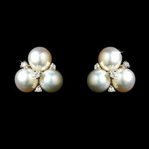 """Boucles d'oreilles en perles d'eau douce """"Annie"""""""