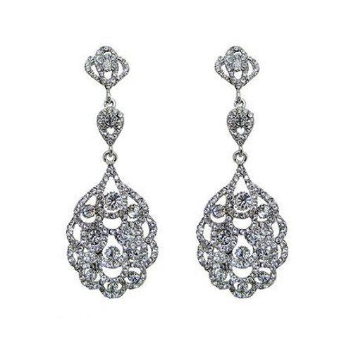 """Boucles d'oreilles chandeliers vintage """"Suzan"""""""