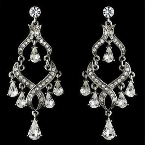 """Boucles d'oreilles chandeliers """"Cléopatre"""""""