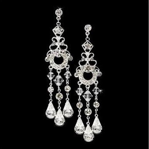 """Boucles d'oreilles chandeliers vintage """"Aphrodite"""""""