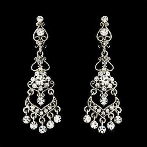 """Boucles d'oreilles chandeliers """"Marianne"""""""