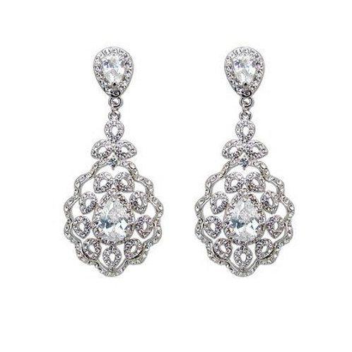 """Boucles d'oreilles chandeliers """"Louise"""""""