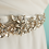 Thumbnail: Ceinture de mariage rose doré