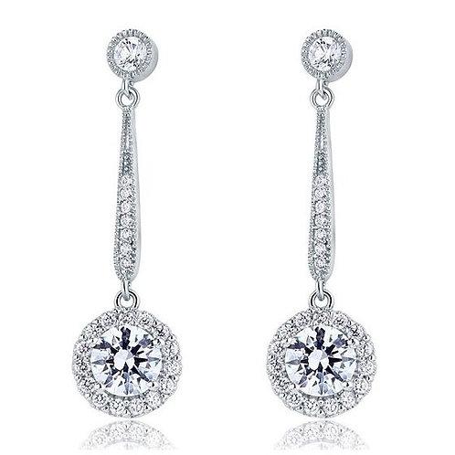 "Boucles d'oreilles avec cristaux Swarovski ""Kia"""