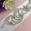Thumbnail: Ceinture avec cristaux Swarovski Sophia