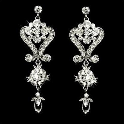 """Boucles d'oreilles chandeliers vintage """"Isolde"""""""