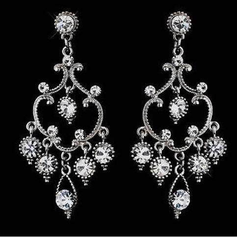 """Boucles d'oreilles chandeliers de mariage """"Laila"""""""