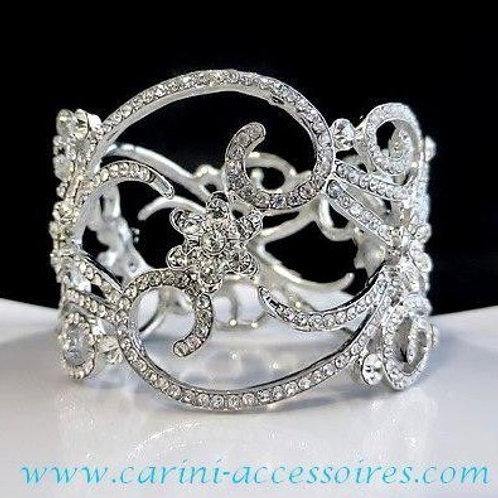 """Bracelet avec cristaux d'Autriche """"Allegra"""""""