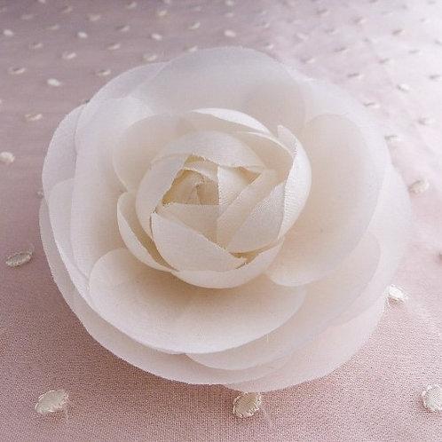 Fleur Camélia en soie