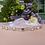 Thumbnail: Fine ceinture de mariage avec cristaux Swarovski