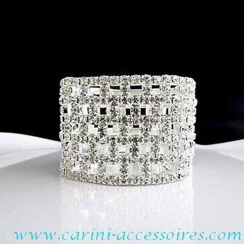 """Bracelet avec cristaux d'Autriche """"Damier"""""""