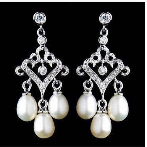 """Boucles d'oreilles avec perles """"Giuliette"""""""