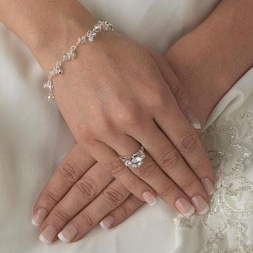 """Bracelet en cristaux """"Aurélie"""""""